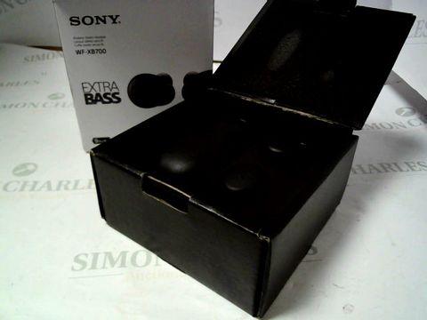 Lot 4032 SONY WF-XB700 TRUE WIRELESS HEADPHONES RRP £169.00