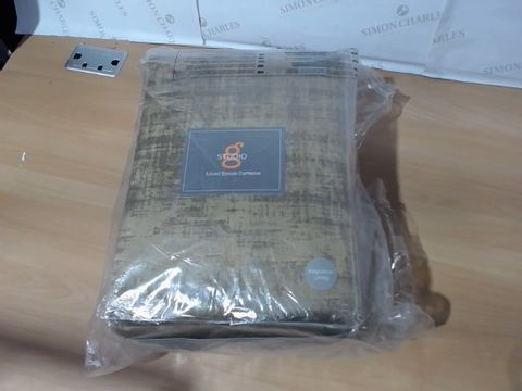 Lot 1124 STUDIO G LINED CURTAINS  RRP £229.99