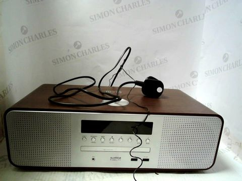 Lot 809 AUDIBLE FIDELITY COMPACT WI-FI STEREO SYSTEM