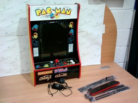 "Lot 3224 ARCADE 1 UP PARTYCADE 16.7"" LCD GAME MACHINE, 4 GAMES INCLUDING PACMAN"