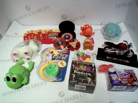 Lot 108 A SMALL BOX OF ASSORTED KIDS TOYS AND GAMES