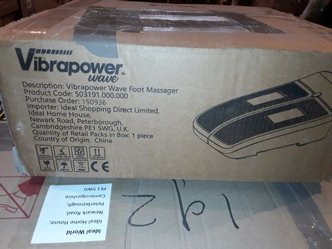 Lot 8234 VIBRAPOWER WAVE FOOT MASSAGER