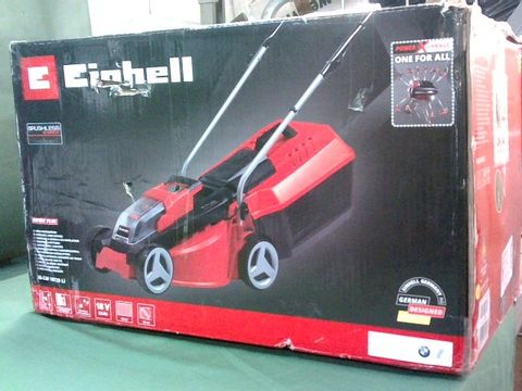 Lot 9338 EINHELL CORDLESS LAWN MOWER