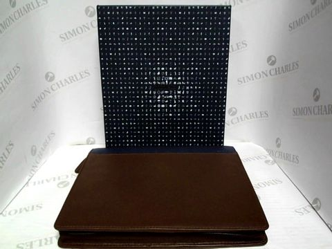 Lot 3318 FILOFAX LEATHER DIARY MANAGER