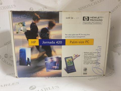 Lot 25 BOXED HP JORNADA 420 PALM-SIZE PC