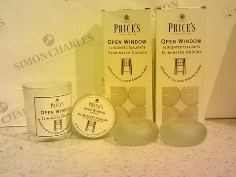 Lot 272 PRICE'S CANDLES 38 PIECE ODOUR ELIMINATING CANDLE COLLECTION