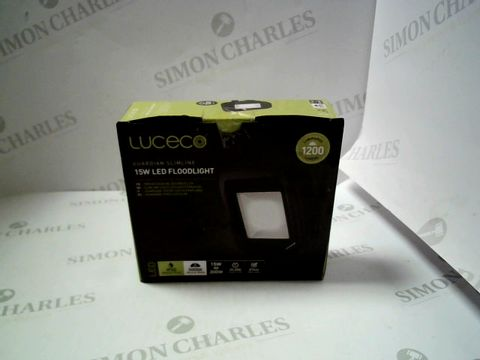 Lot 7625 LUCECO GUARDIAN SLIMLINE 15W LED FLOODLIGHT