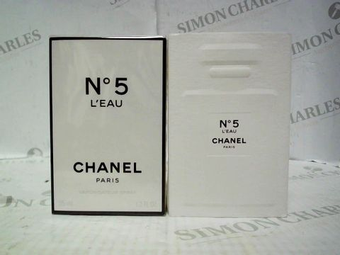 Lot 5076 BRAND NEW AND SEALED CHANEL NO 5 L'EAU EDP 35ML