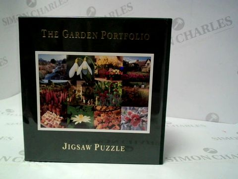 Lot 152 THE GARDEN PORTFOLLIO JIGSAW PUZZLE