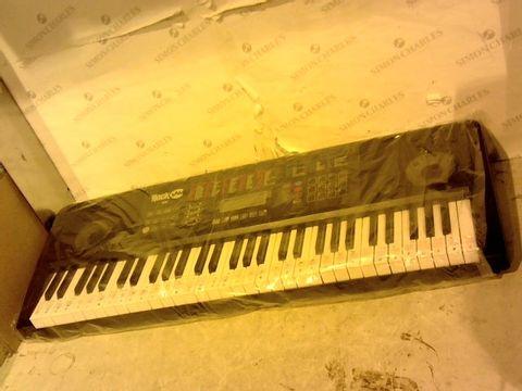 Lot 12639 ROCKJAM RJ761-SK KEY ELECTRONIC INTERACTIVE TEACHING PIANO KEYBOARD