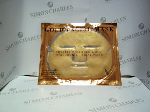Lot 8495 CRYSTAL COLLAGEN GOLD HYALURONIC FACIAL MASK