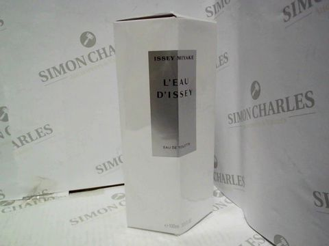 Lot 1215 BRAND NEW AND SEALED ISSEY MIYAKE L'EAU D'ISSEY EDT 100ML