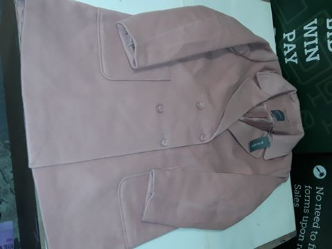 Lot 50 PRINCIPLES BUTTON FRONT JACKET IN PINK - 18