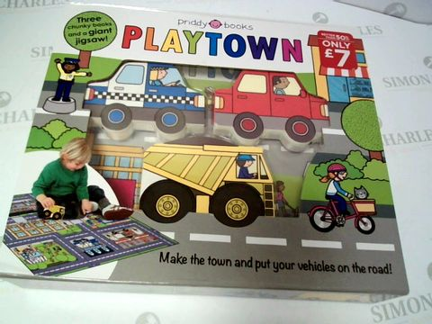 Lot 124 PLAYTOWN - CHUNKY BOOKS AND A GIANT JIGSAW