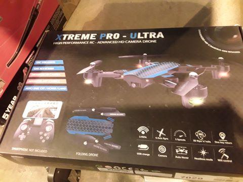 Lot 12010 XTREME PRO-ULTRA HIGH PERFORMANCE HD CAMERA DRONE
