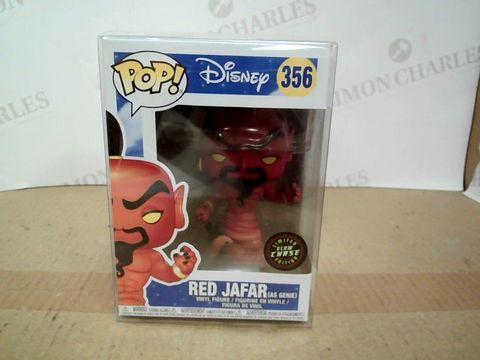 Lot 1087 BOXED POP! DISNEY RED JAFAR VINYL FIGURE
