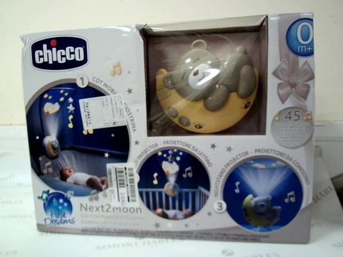 Lot 5259 CHICCO NEXT2MOON COT MOBILE RRP £37.99