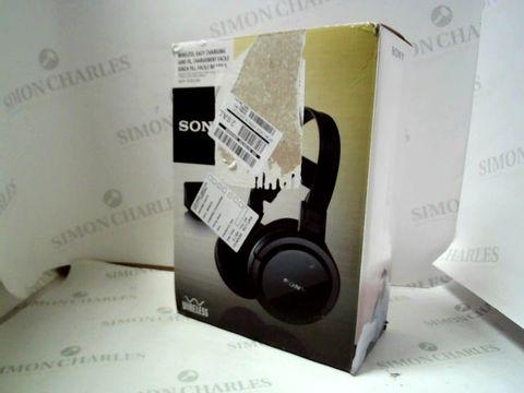 Lot 4057 SONY RF855 WIRELESS HEADPHONES  RRP £120.00