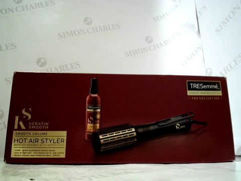 Lot 3210 TRESEMME KERATIN SMOOTH HOT AIR STYLER