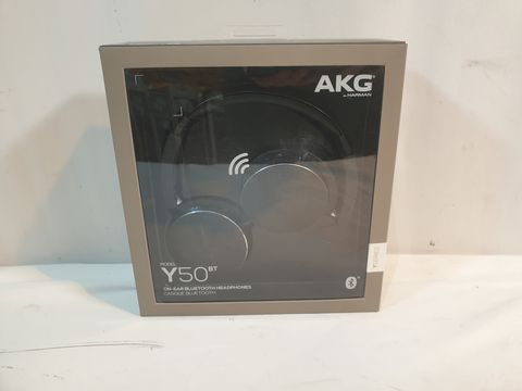 Lot 1005 AKG Y50 BT MON EAR BLUETOOTH HEADPHONES