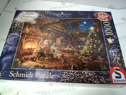 Lot 113 SCHMIDT JIGSAW PUZZLE - LIMITED CHRISTMAS EDITION