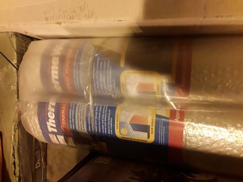 Lot 5263 TWO ROLLS OF THERMA WARM GENERAL PURPOE INSULATION