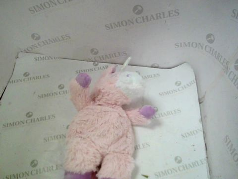 Lot 288 WARMIES HEATABLE UNICORN - PINK  RRP £18.99