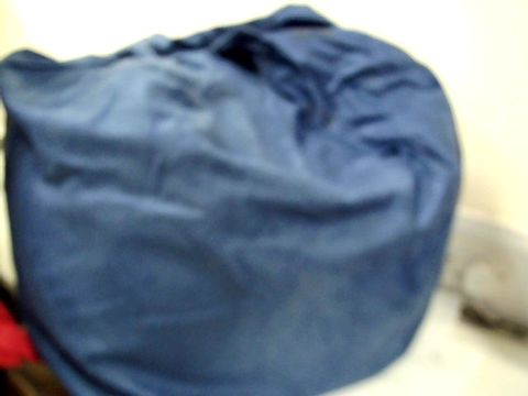 Lot 7573 BLUE FABRIC BEAN BAG