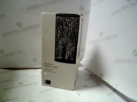 Lot 1618 BOXED DEVON TABLE LAMP