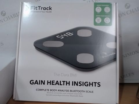 Lot 2071 FITTRACK GAIN HEALTH INSIGHTS SCALE - NEW CONDITION AND SEALED