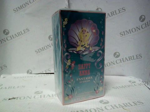 Lot 8102 BRAND NEW AND SEALED HAPPY ANNA FANTASIA MERMAID EDT 80ML