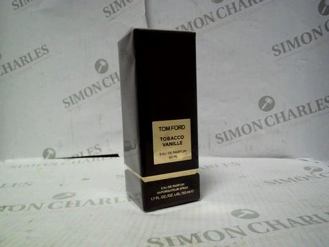 Lot 8075 BRAND NEW AND SEALED TOM FORD TOBACCO VANILLE EDP 50ML