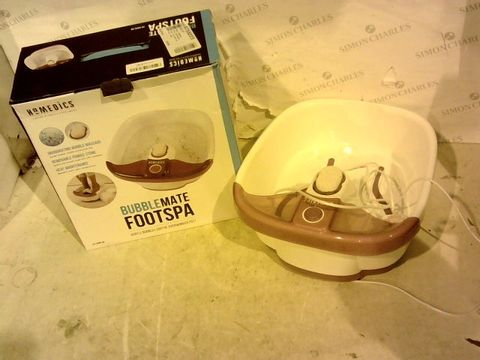 Lot 11863 HOMEDICS BUBBLEMATE FOOTSPA