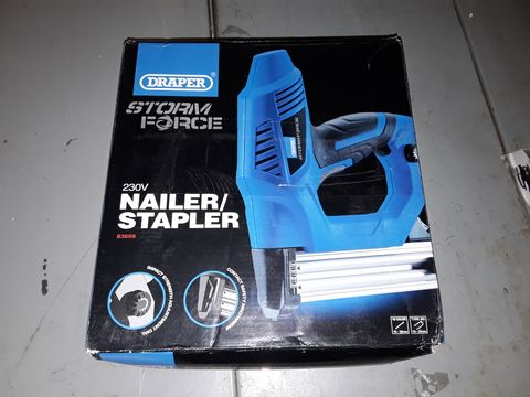 Lot 252 DRAPER 83659 230V ELECTRIC STAPLER/NAILER