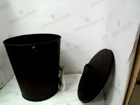 Lot 10029 FIRE SIDE PRODUCTS COAL BUCKET - BLACK