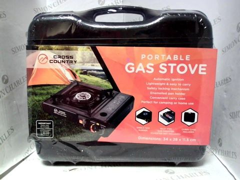 Lot 507 CROSS COUNTRY PORTABLE GAS STOVE