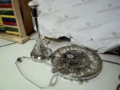 Lot 253 MICHELLE KEEGAN HOME ANGEL TABLE LAMP RRP £49.99