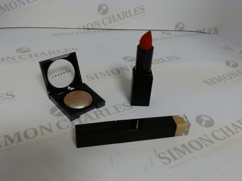 Lot 9473 BOX OF APPROXIMATELY 65 ASSORTED BRAND NEW MAKE UP ITEMS TO INCLUDE RIO RIO LIPSTICK, EVOLVE EYESHADOW, SEPIA CONCEALER, ETC