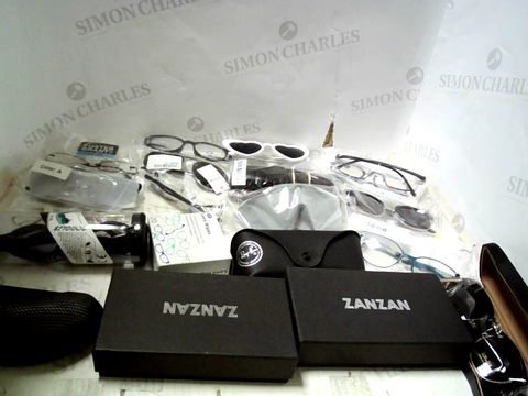 Lot 167 LOT OF APPROXIMATELY 25 ASSORTED EYEWEAR ITEMS TO INCLUDE; SPECTACLES, SUNGLASSES ETC