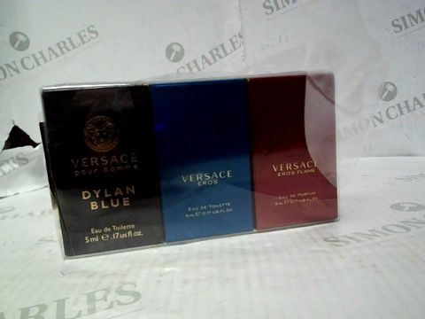 Lot 5012 VERSACE MINIATURES COLLECTINO 3X50ML EDT