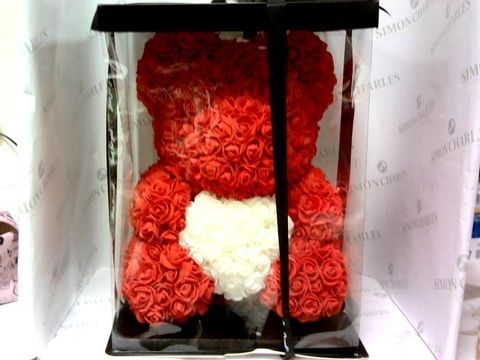 Lot 4231 LARGE RED FOREVER BEAR IN BOX