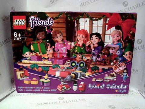 Lot 4757 LEGO FRIENDS 41420 ADVENT CALENDAR