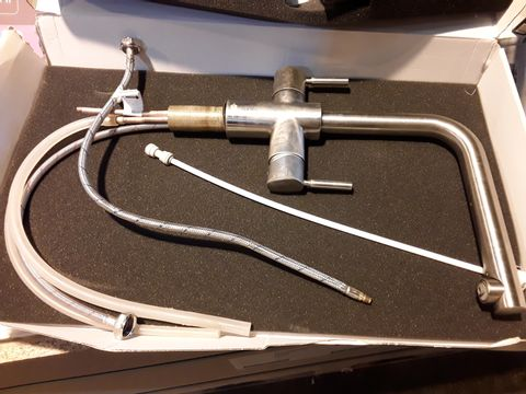 Lot 705 INSINKERATOR TWIN LEVER 3 IN 1 MIXER TAP