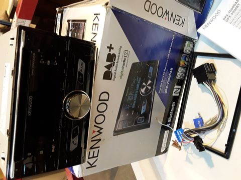Lot 78 KENWOOD DPX-7000DAB DUAL DIN SIZED CD RECEIVER WITH USB INTERFACE