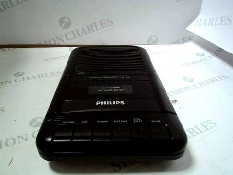 Lot 7029 PHILIPS CASSETTE RECORDER AQ1001