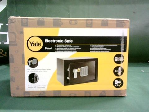 Lot 9090 YALE ELECTRONIC SAFE - SMALL
