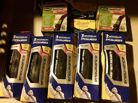 Lot 51 APPROXIMATELY 10 ITEMS, BICYCLE TYRES, INNER TUBES & PUNCTURE REPAIR KITS