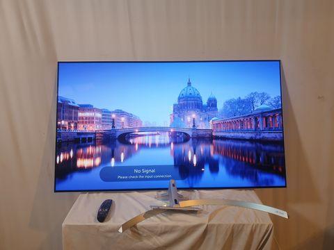 Lot 21 LG 55 INCH OLED55B7V-ES OLED 4K ULTRA HD PREMIUM SMART TV