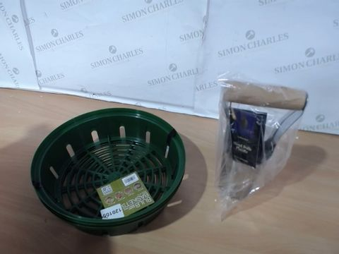 Lot 1031 BULB BASKETS 25CM AND BULB PLANTER RRP £18.99