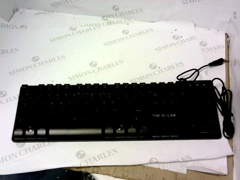 Lot 5466 THE G-LAB COMBO KRYPTON – WIRED GAMING KEYBOARD